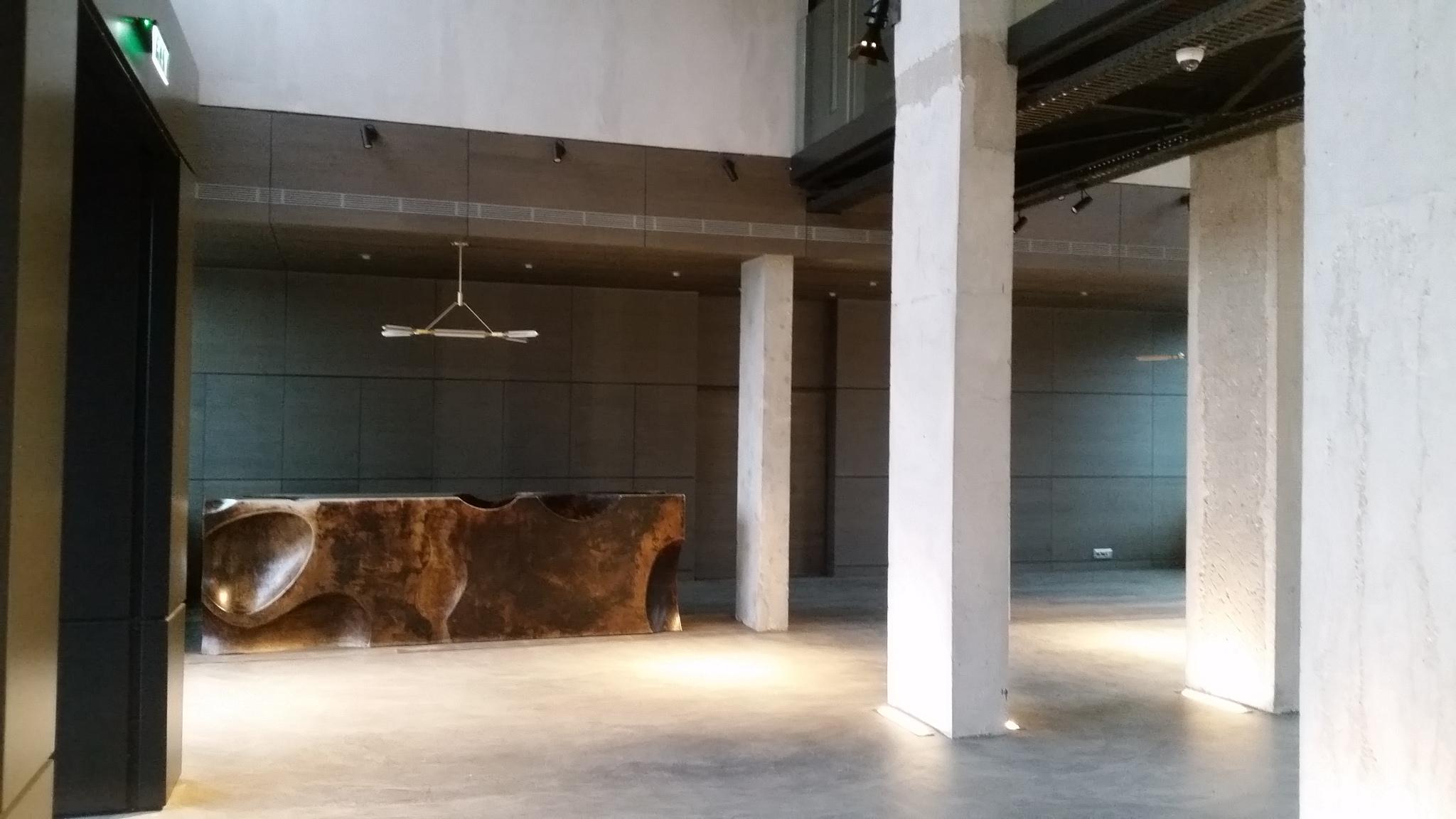 Vue intérieure d'un hall
