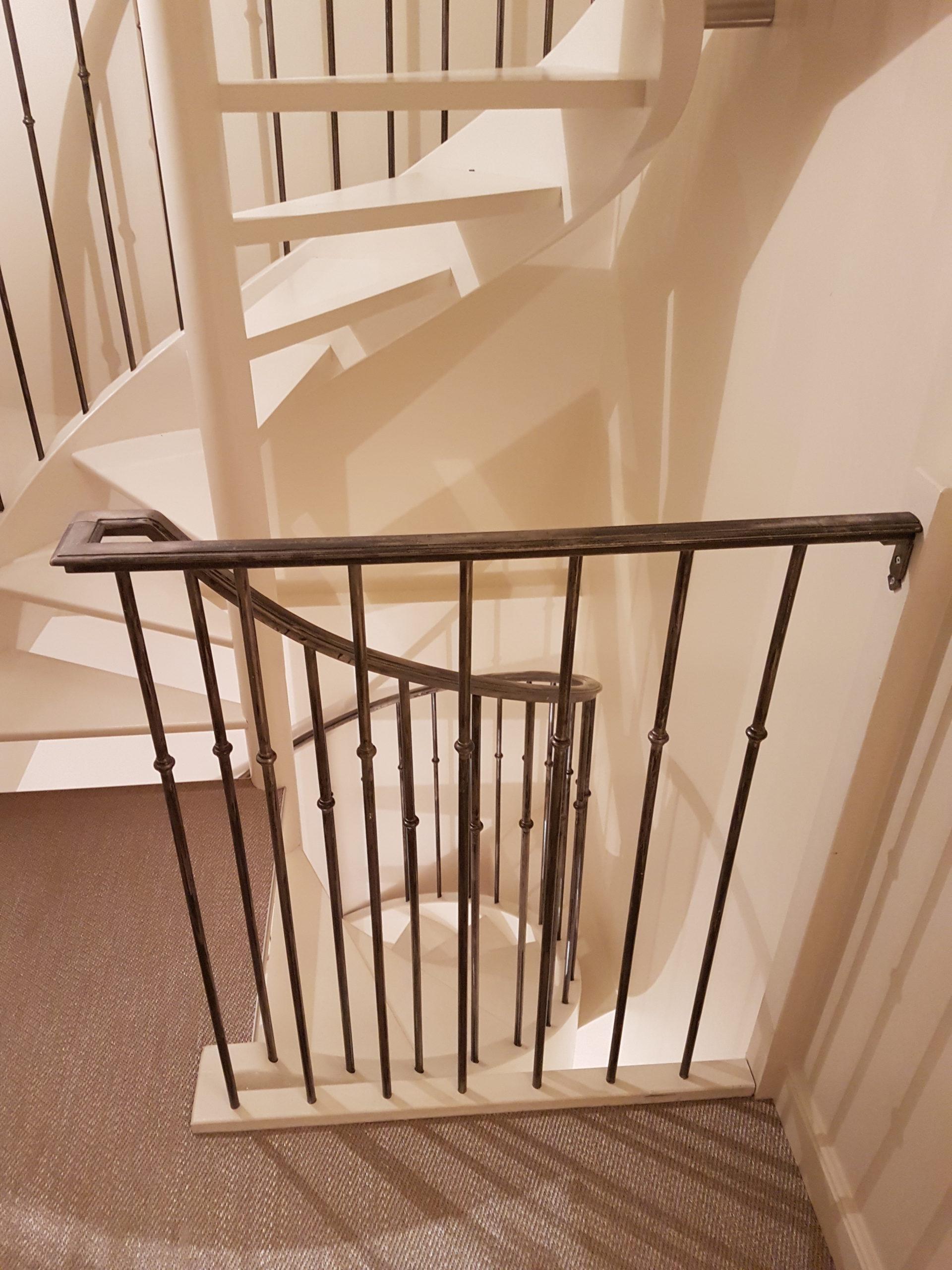 Garde corps escalier en colimaçon